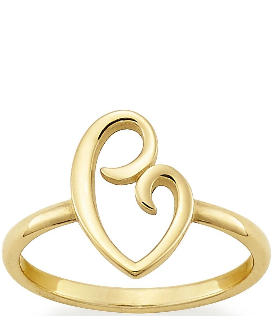 James Avery 14K Gold Delicate Mother's Love Ring
