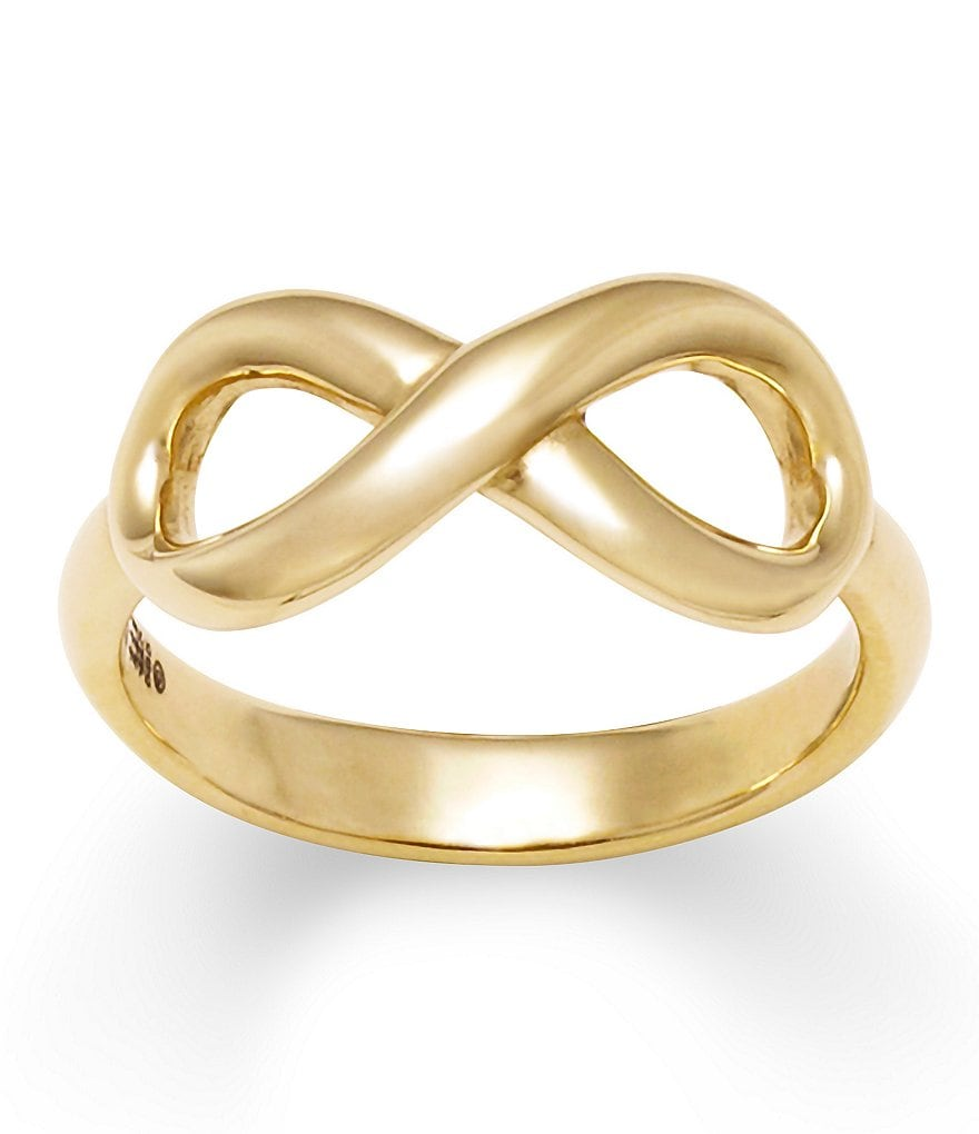 James Avery 14K Gold Infinity Ring