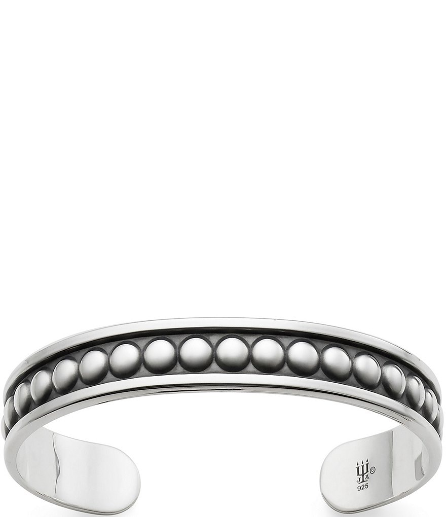 James Avery Beaded Cuff Bracelet