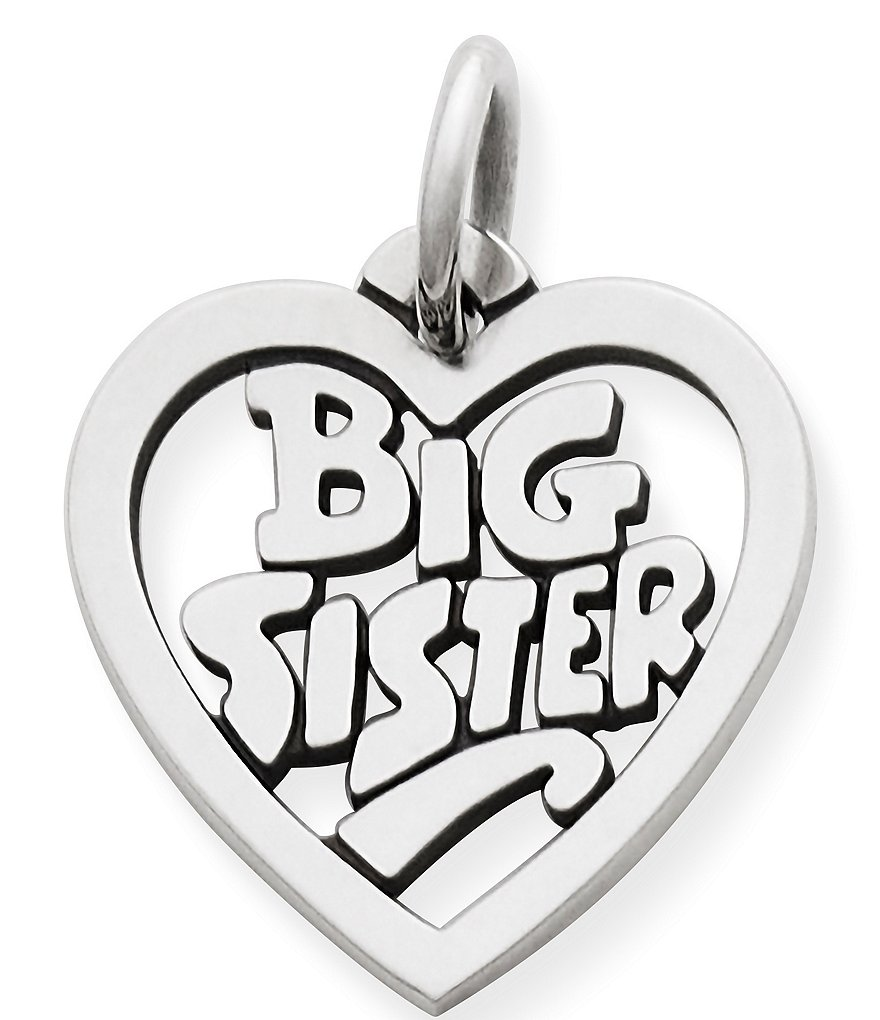 James Avery Big Sister Heart Charm