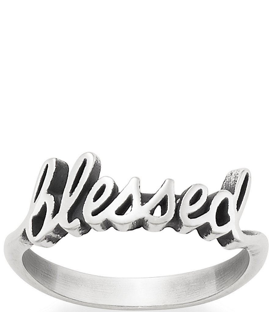 James Avery #double;Blessed#double; Ring