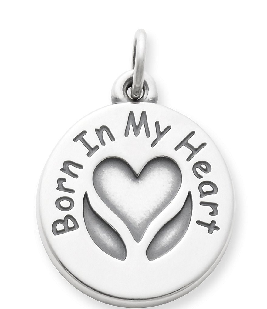 James Avery Born In My Heart Charm