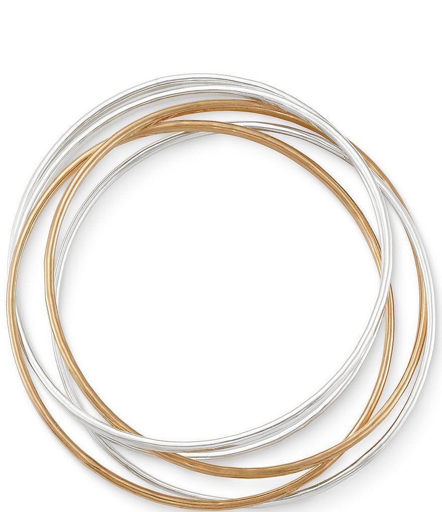 James Avery Cascading Circles Bangle Bracelet
