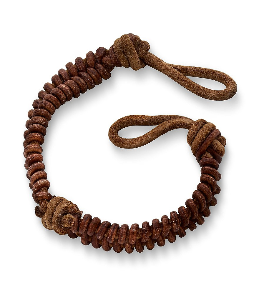 James Avery Cinnamon Woven Leather Bracelet