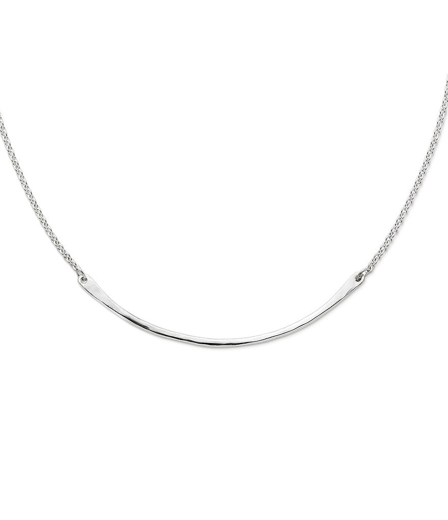 James Avery Crescent Changeable Charm Holder Necklace