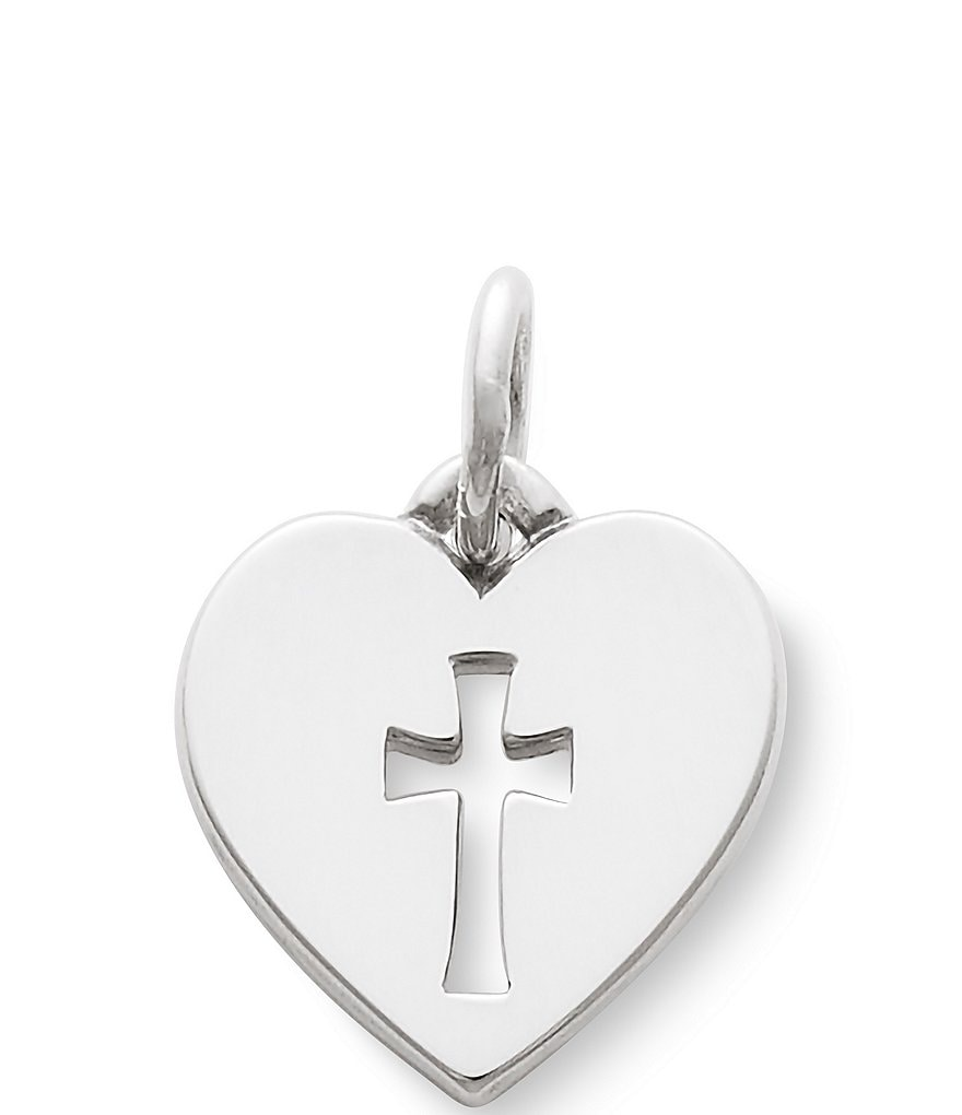 James Avery Crosslet Heart Charm
