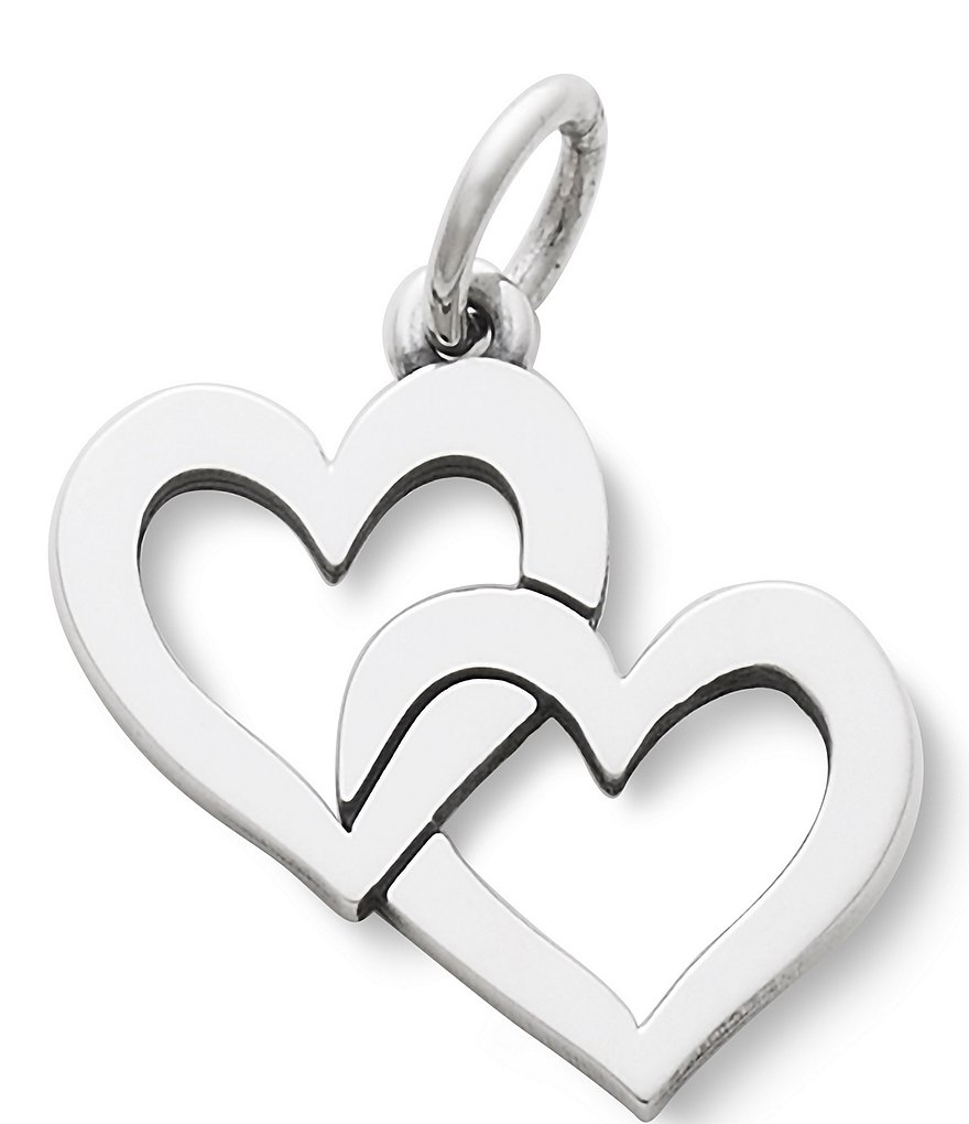 James Avery Cupid Hearts Charm