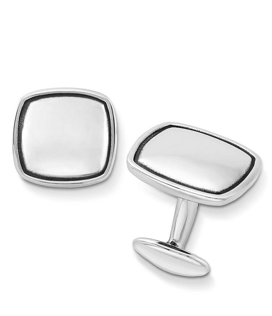 James Avery Cushion Cuff Links