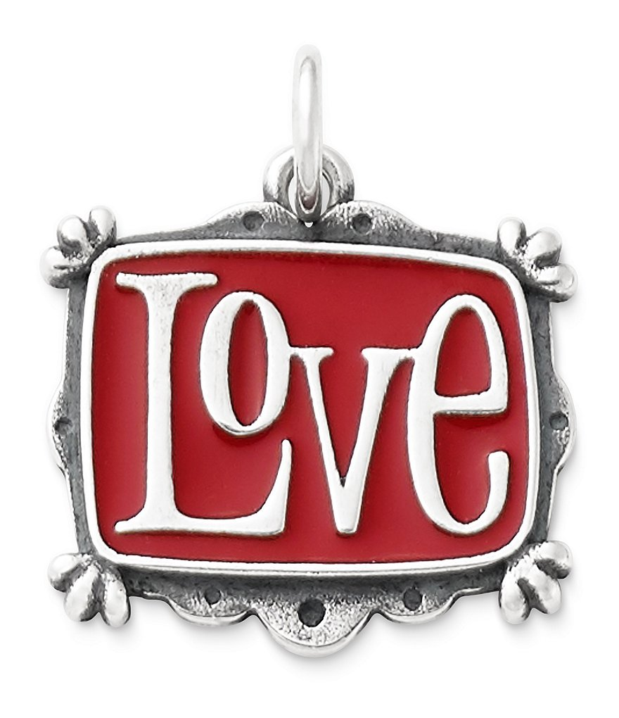 James Avery Enamel Vintage Love Charm