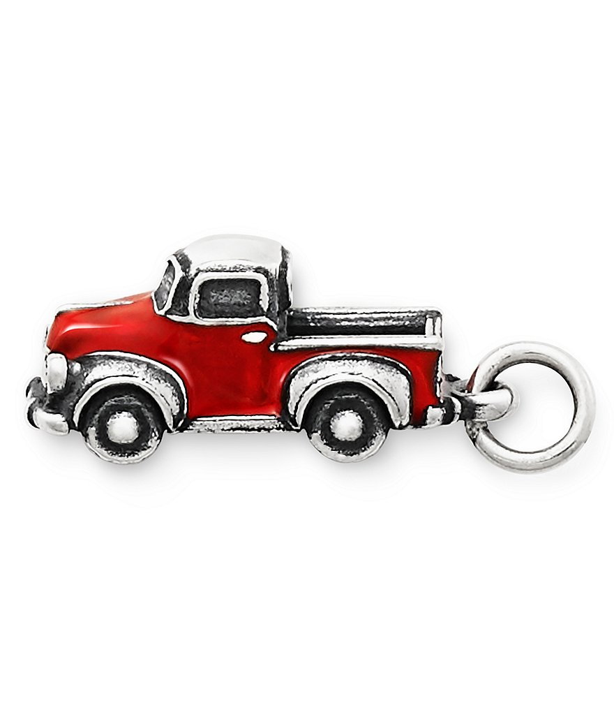 James Avery Enamel Vintage Truck Charm