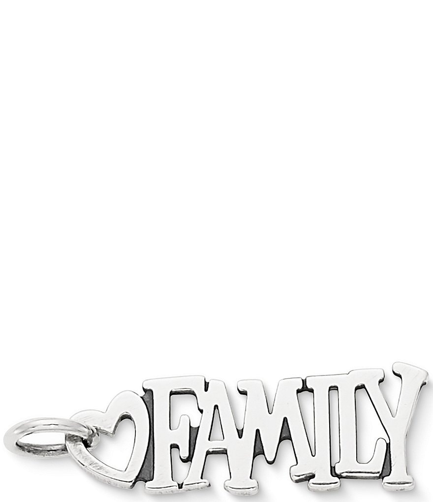 James Avery #double;Family#double; Charm