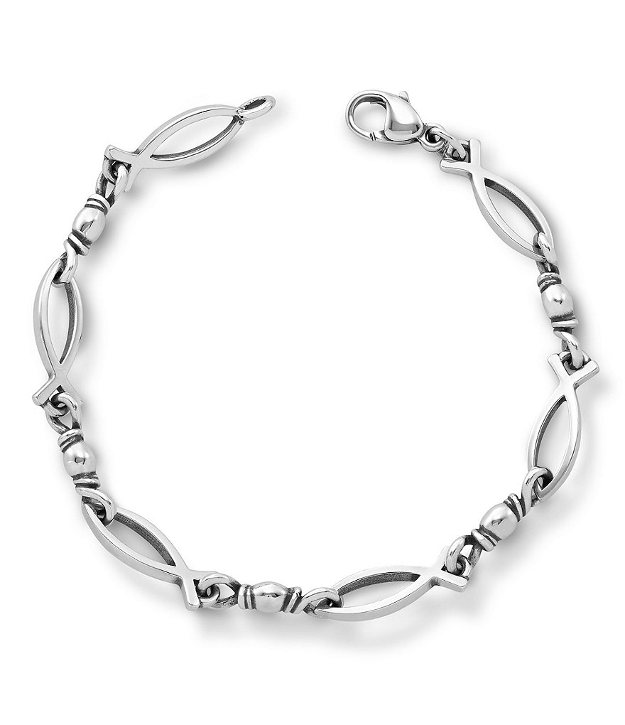 James Avery Fishers of Men Ichthus Bracelet