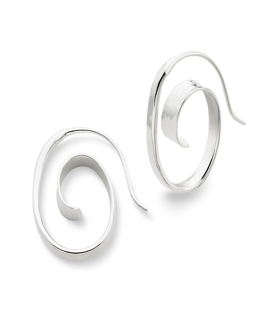 James Avery Floating Spiral Earrings
