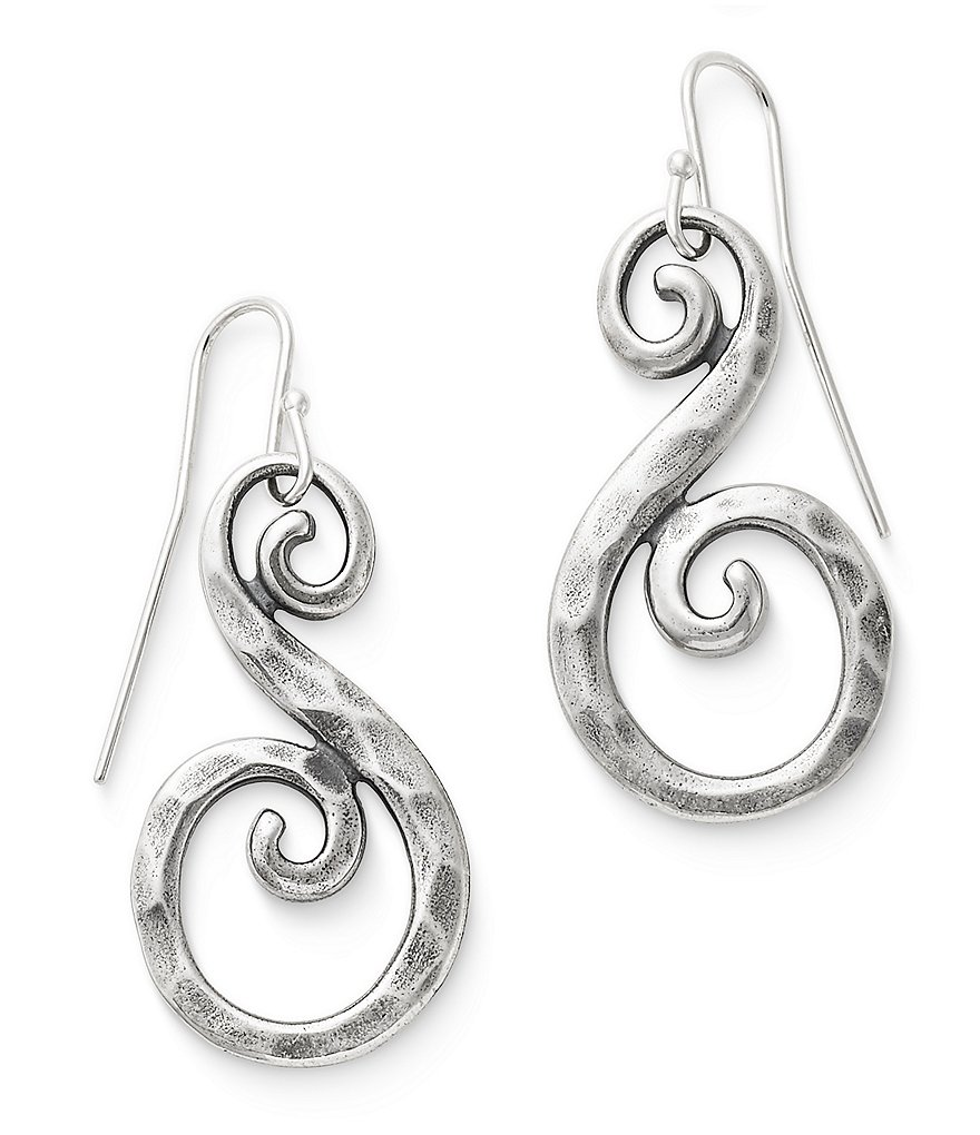 James Avery Forged Gentle Waves Earrings