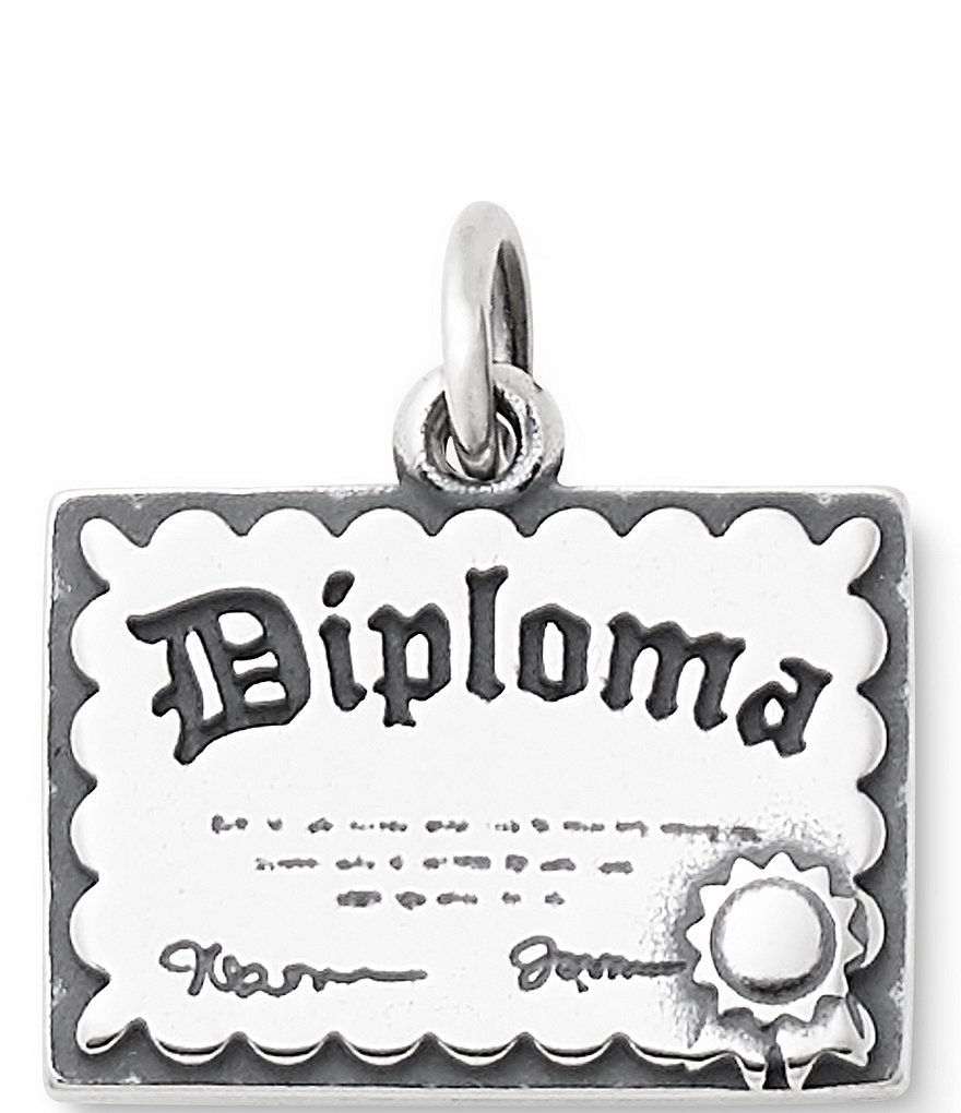 James Avery Graduation Diploma Charm