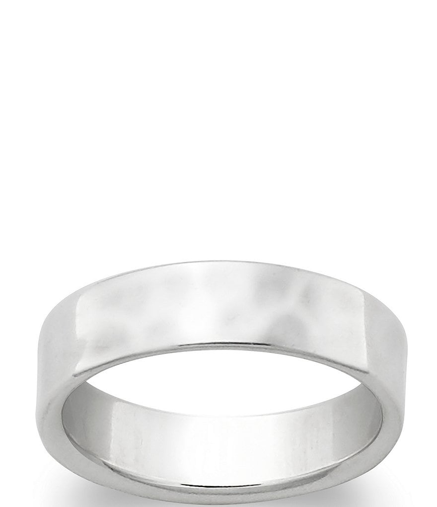 James Avery Hammered Band Ring