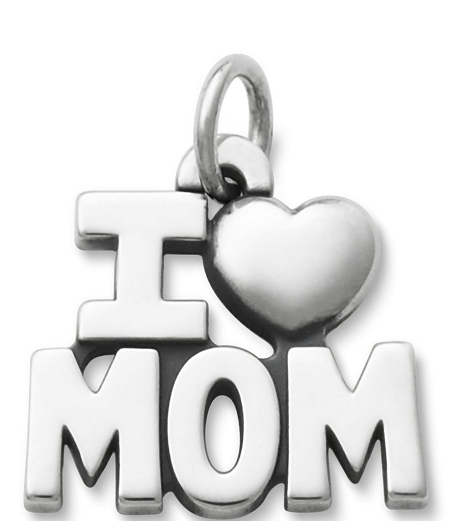 James Avery I Love Mom Charm