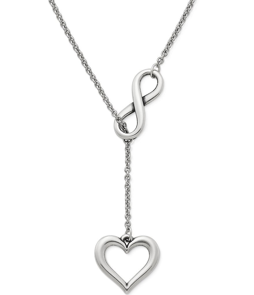 James avery infinite love sterling silver necklace dillards james avery infinite love sterling silver necklace aloadofball Images