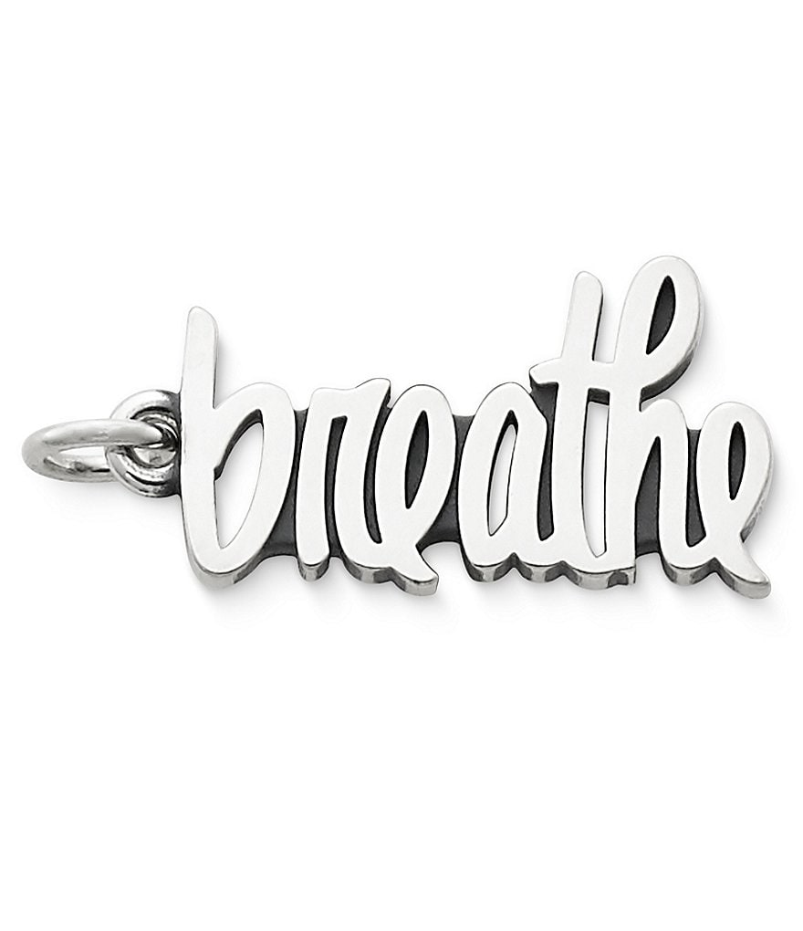 James Avery Jewelry Breathe Charm