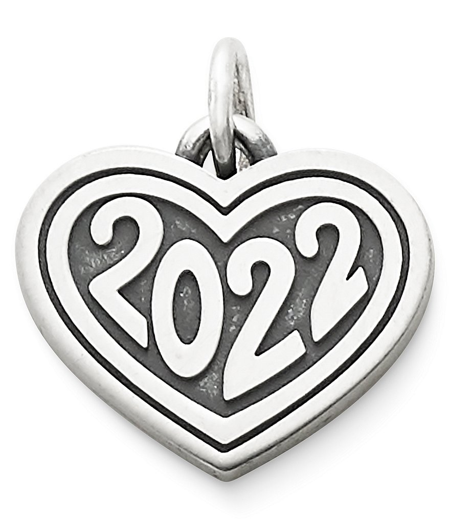 James Avery Jewelry Heart 2022 Year Charm