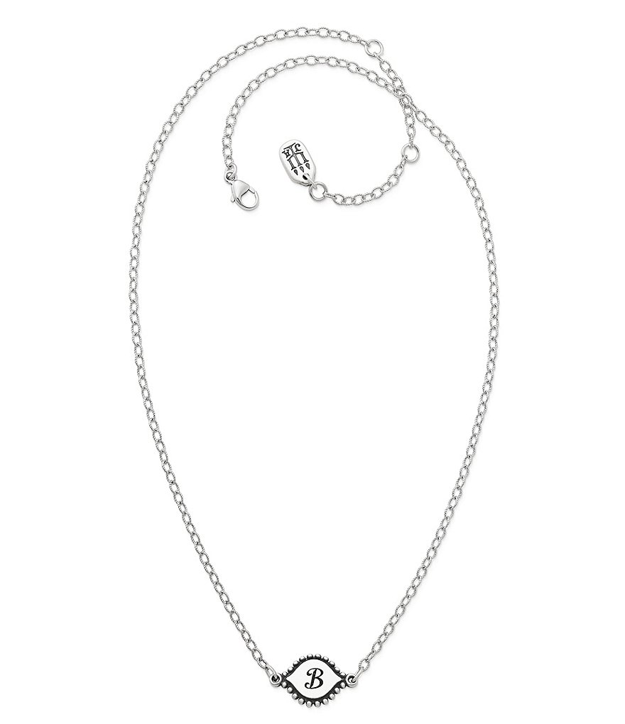 g pendant initial necklace bar baublebar