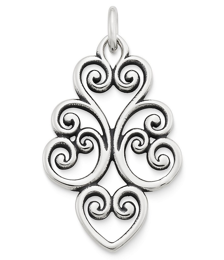 James Avery Jubilant Heart Pendant