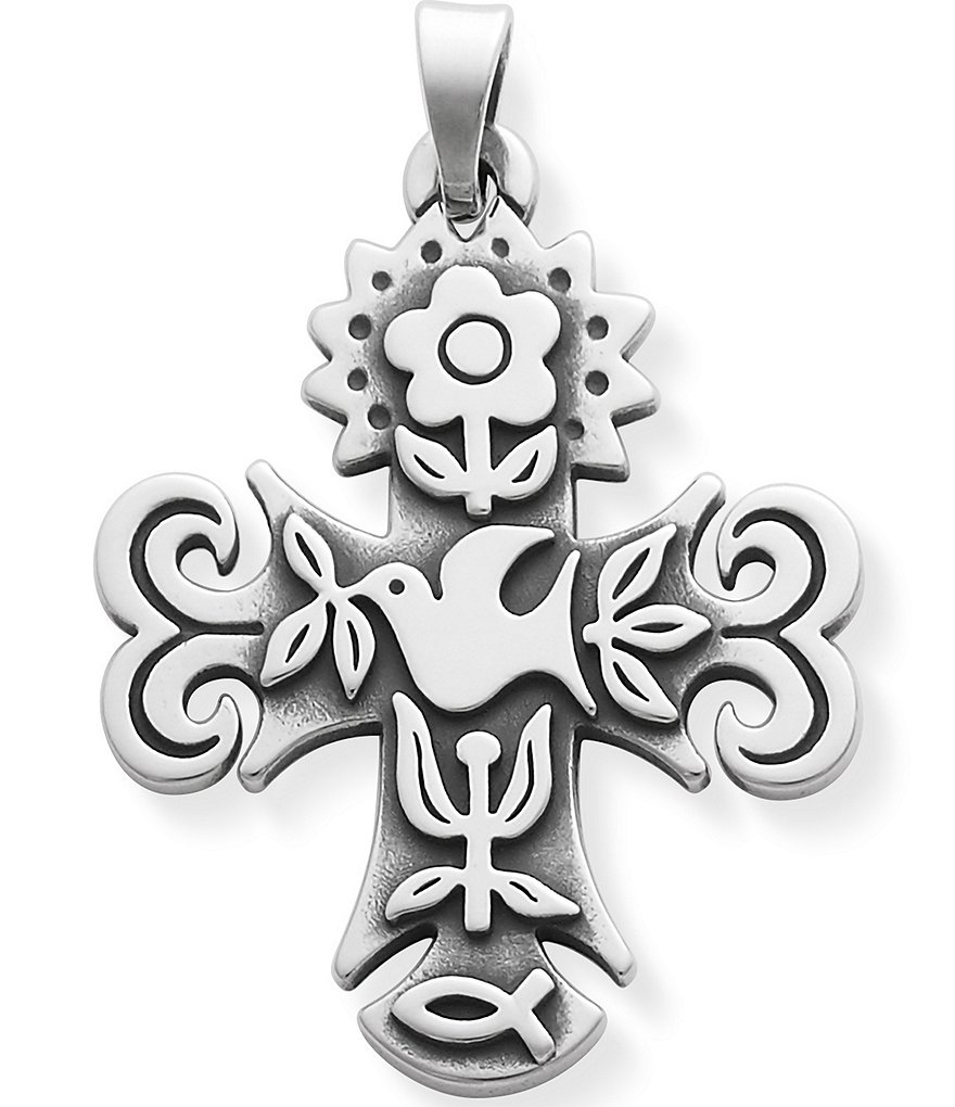 James Avery La Primavera Medium Cross Pendant