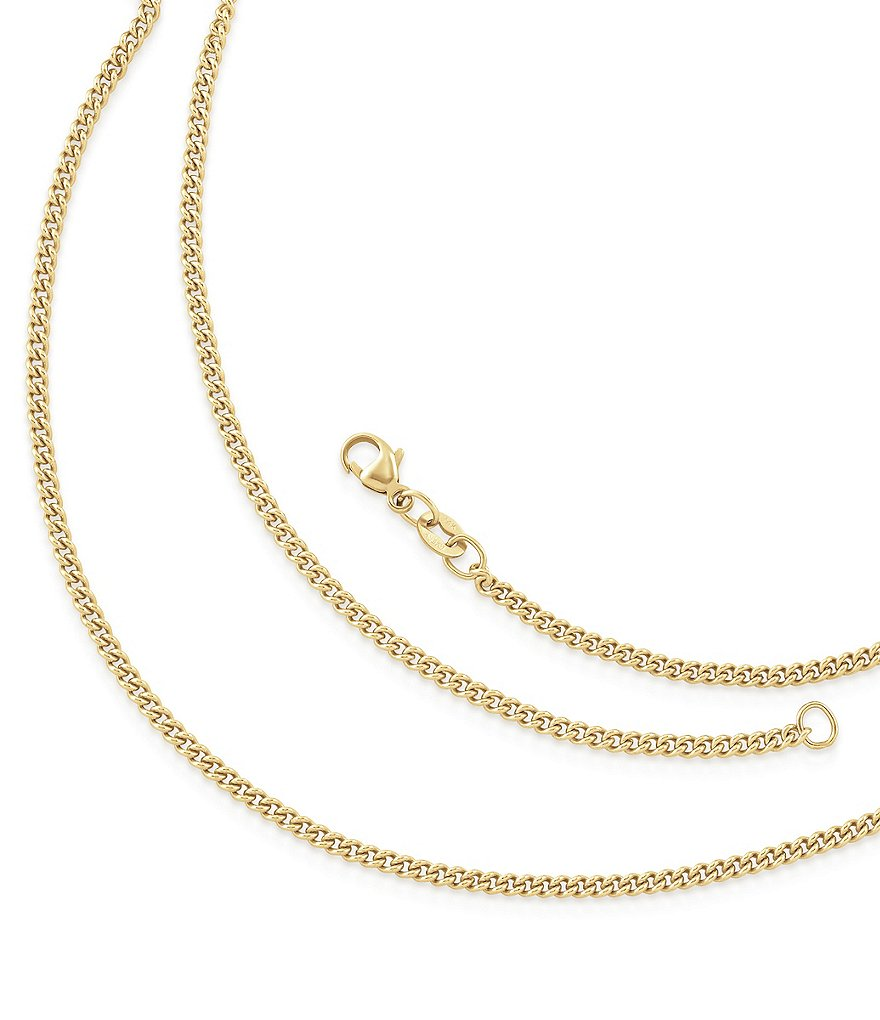 James Avery Light Curb Chain