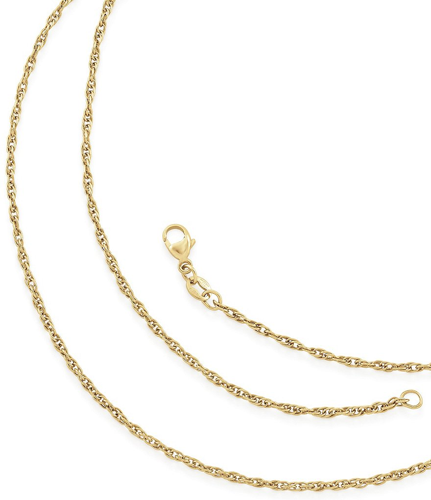 James Avery Light Rope Chain