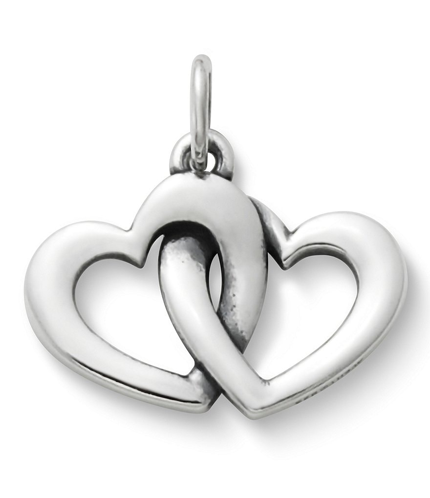 James Avery Linked Hearts Charm