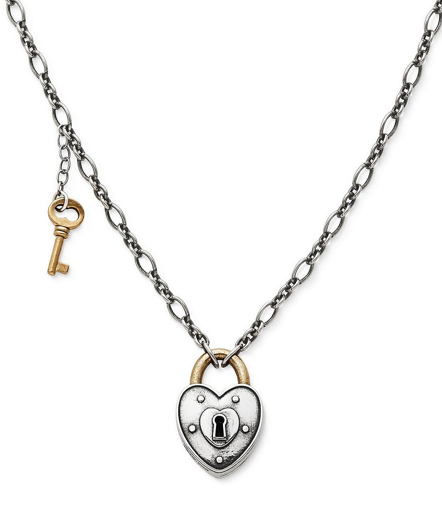 James Avery Love Lock Necklace
