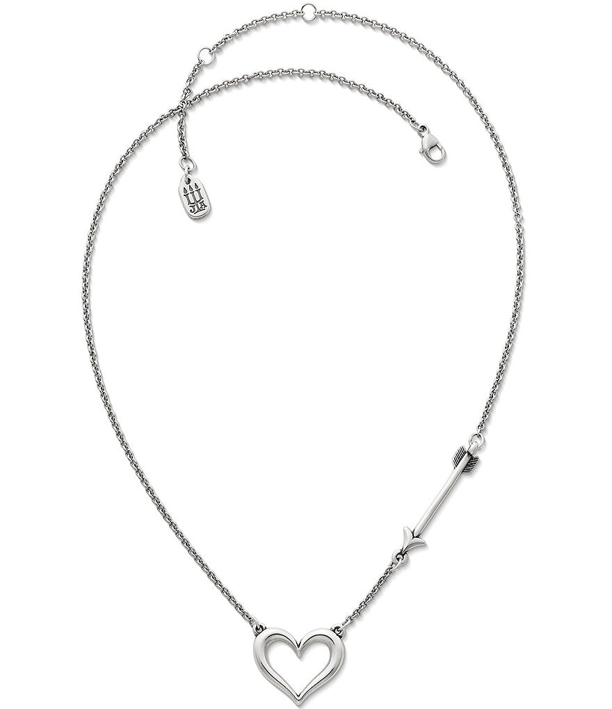 James Avery Love Struck Heart Necklace
