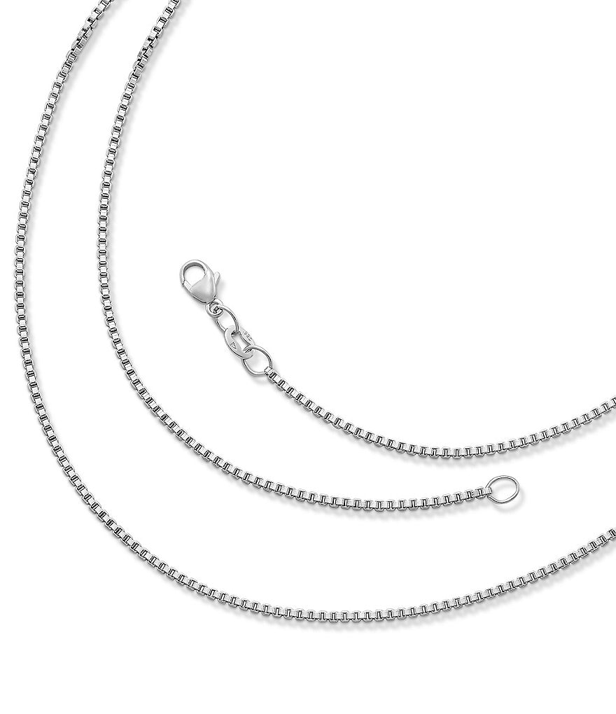 James Avery Medium Box Chain Necklace