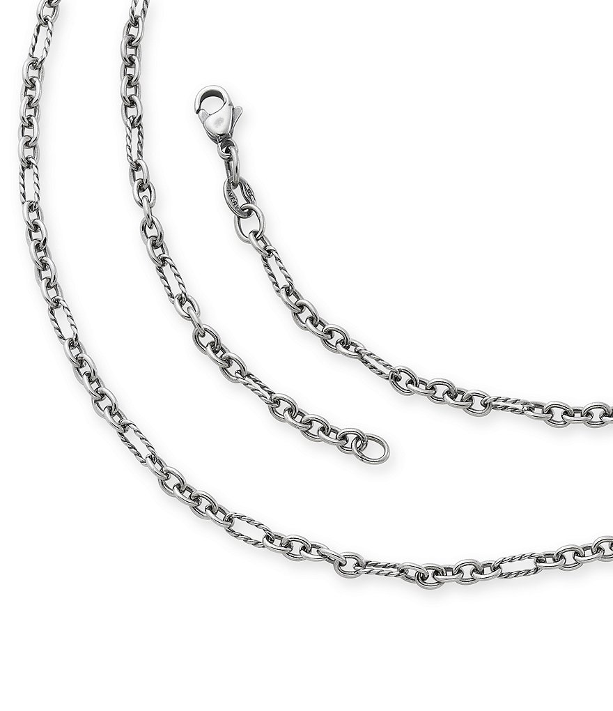 James Avery Medium Cable Figaro Chain Necklace