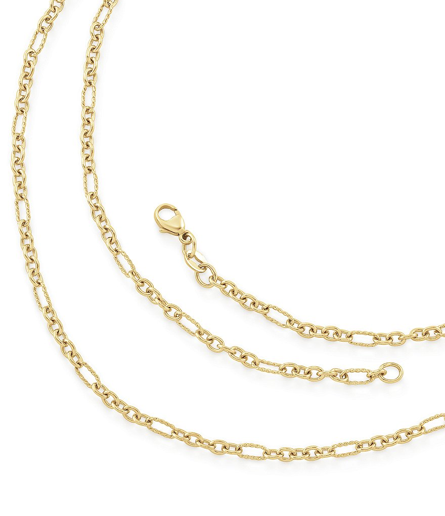 James Avery Medium Cable Figaro Chain