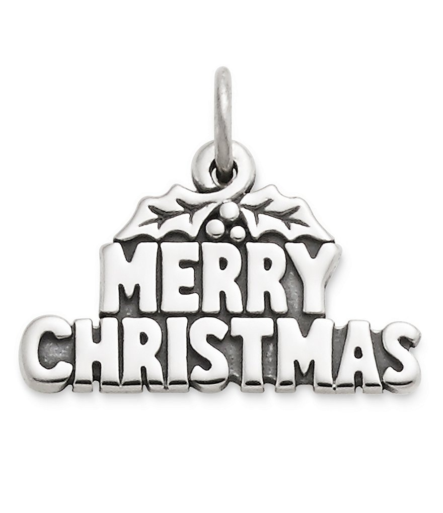 James Avery Merry Christmas Charm