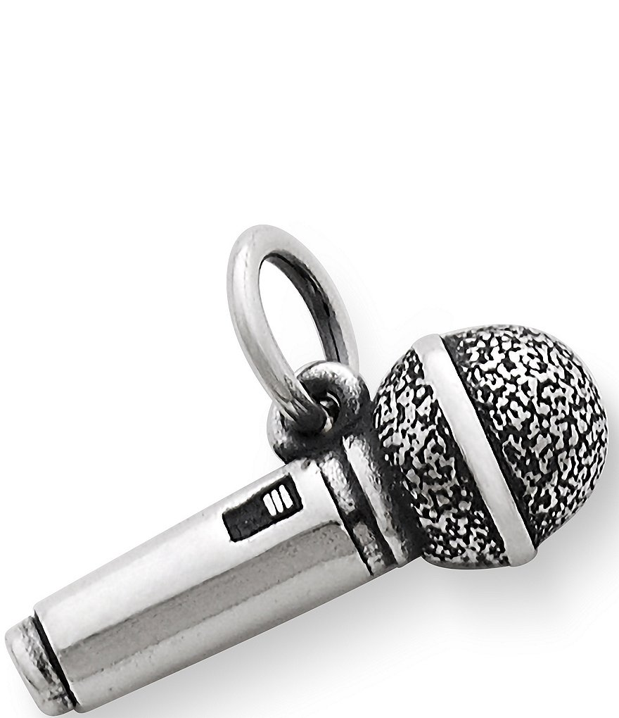 James Avery Microphone Charm