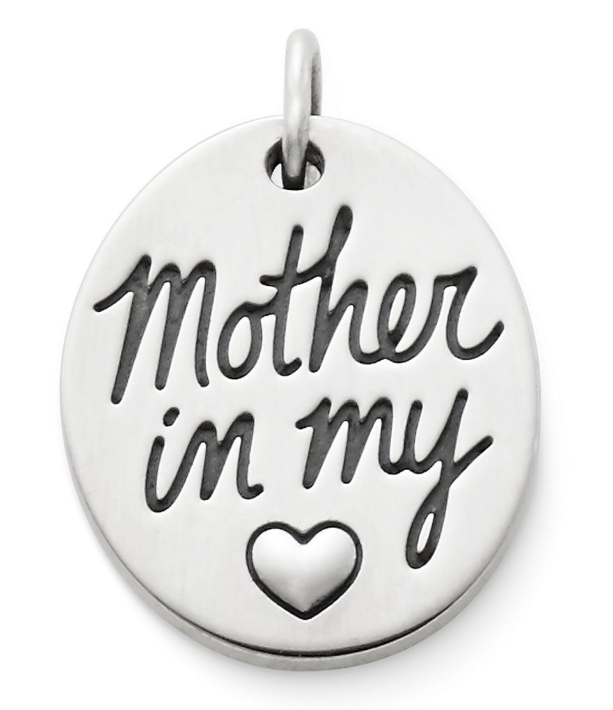 James Avery Mother in my Heart Charm