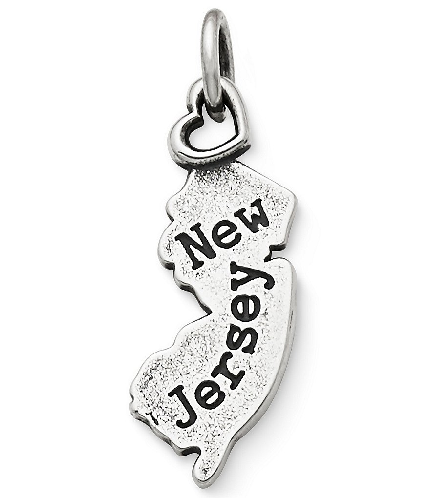 James Avery My New Jersey Charm