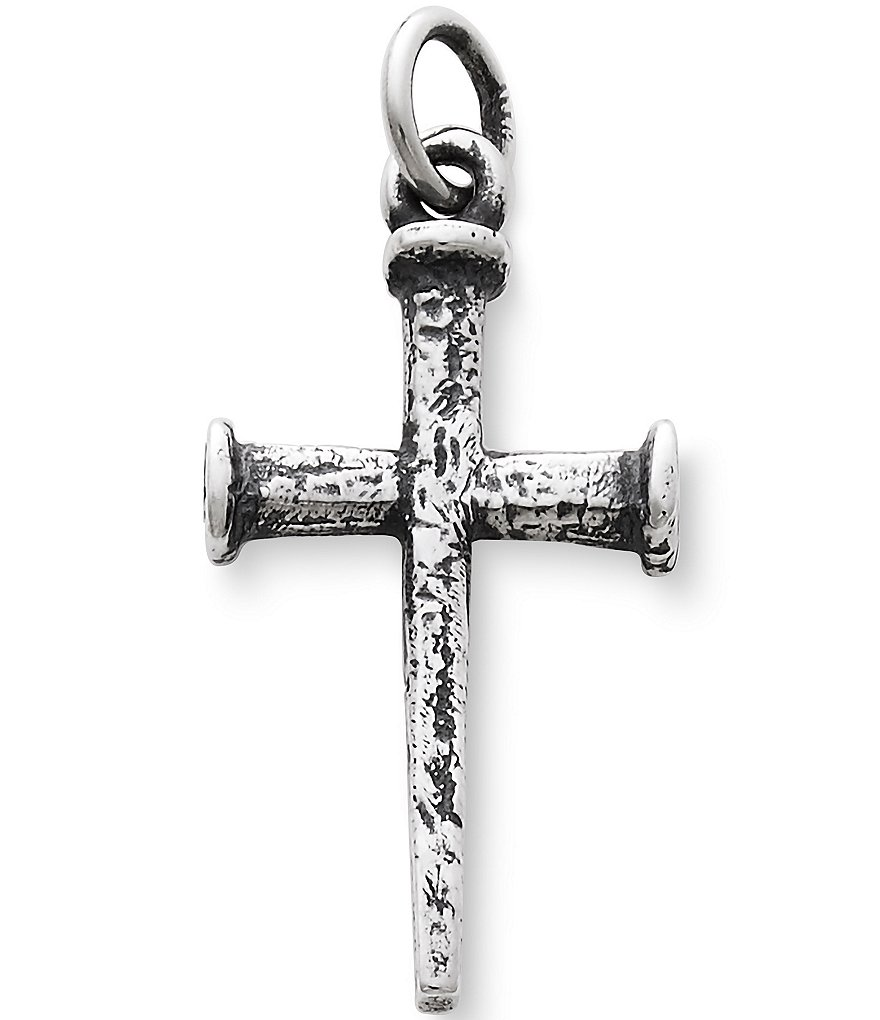 James Avery Nail Cross Sterling Silver Pendant