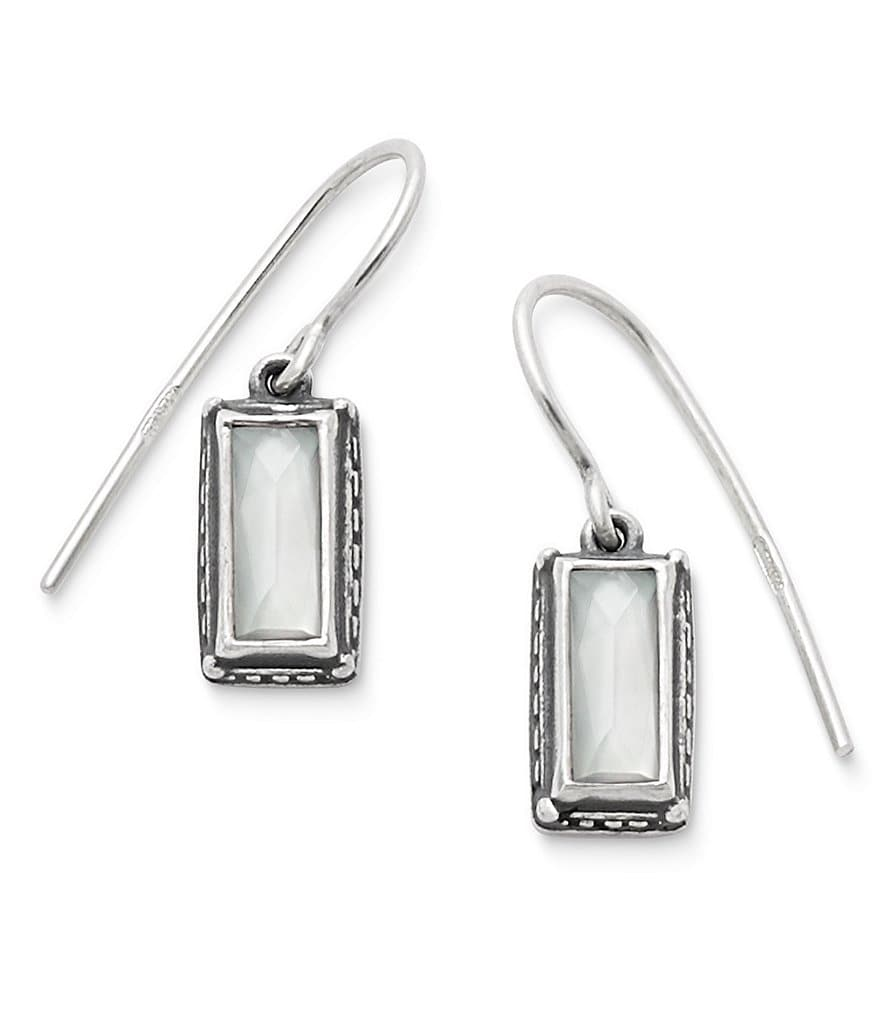 James Avery Palais Blanc Doublet Ear Hooks