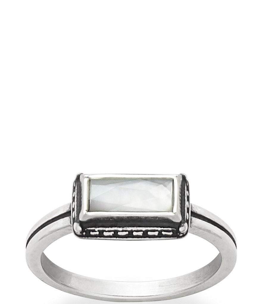 James Avery Palais Blanc Doublet Ring