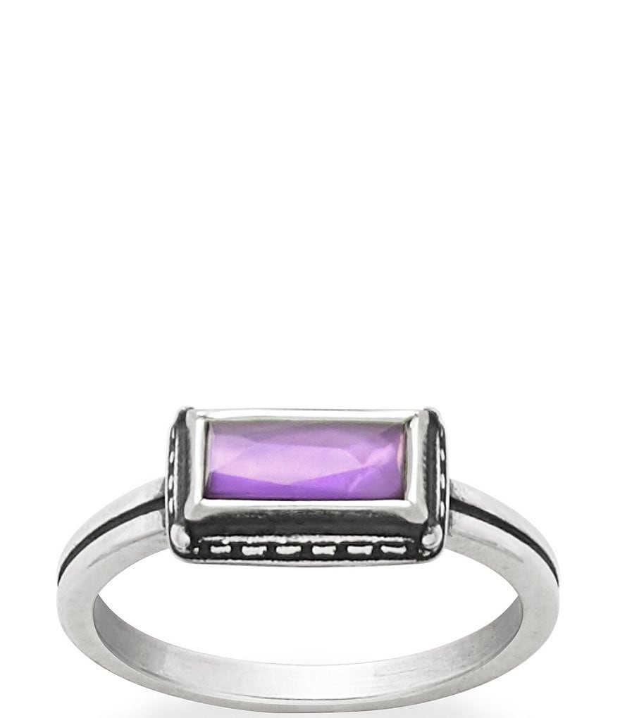 James Avery Palais Violet Doublet Ring
