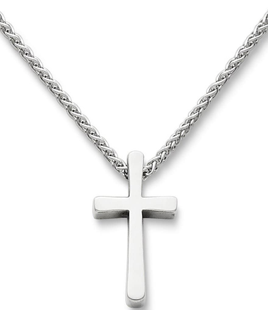 James avery plain latin cross pendant necklace dillards james avery plain latin cross pendant necklace aloadofball Images