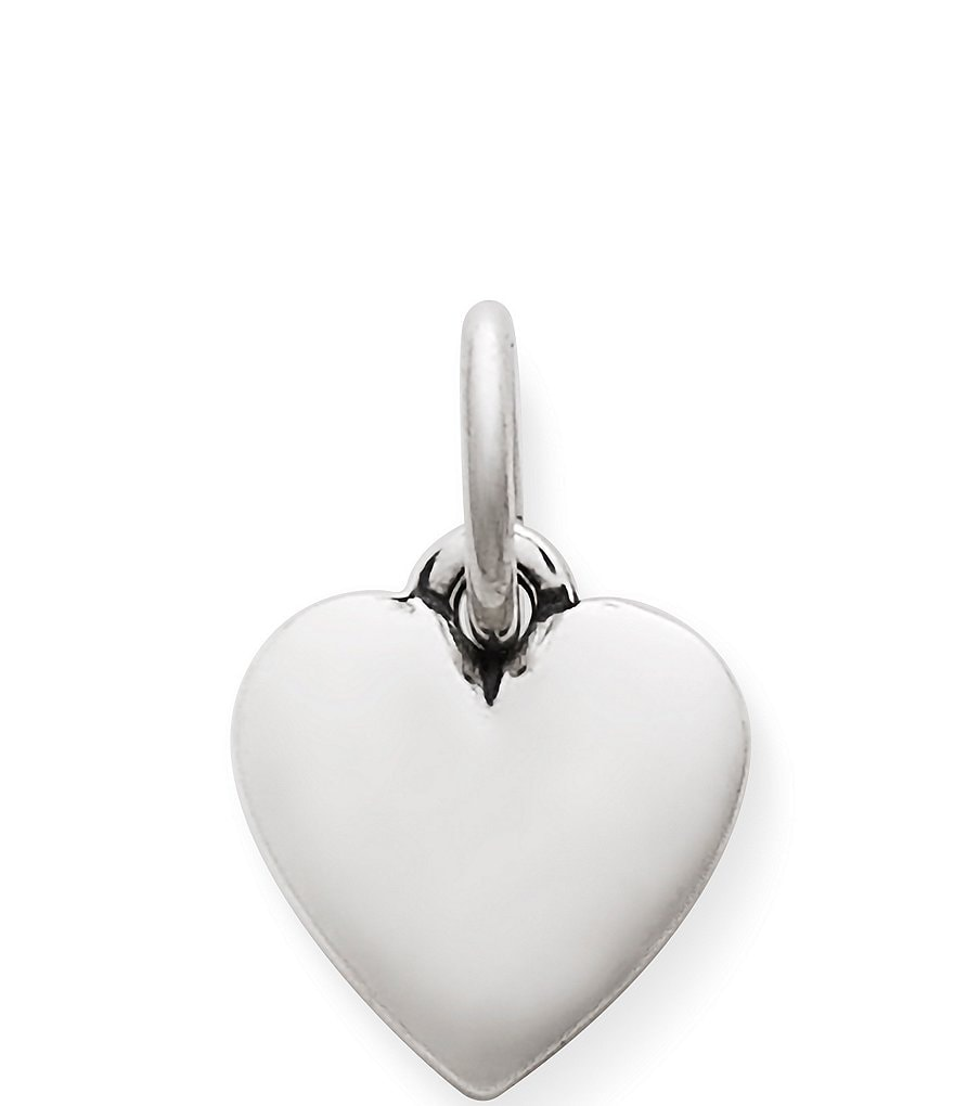 James Avery Puffed Heart Sterling Silver Charm