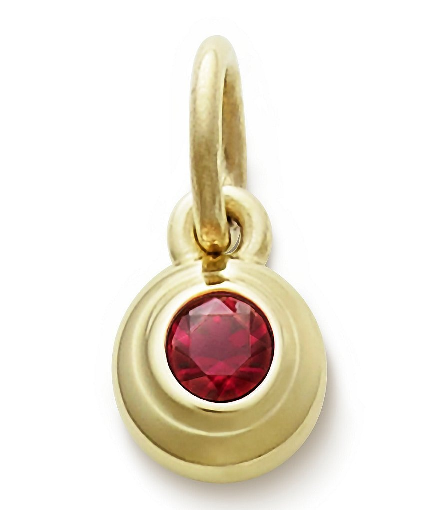 James Avery Remembrance Pendant with Lab-Created Ruby