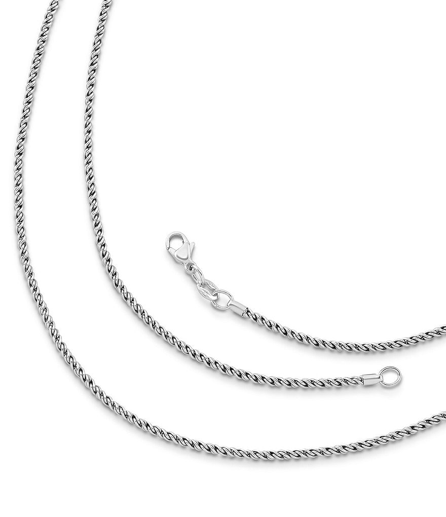 James Avery Reverse Rope Chain