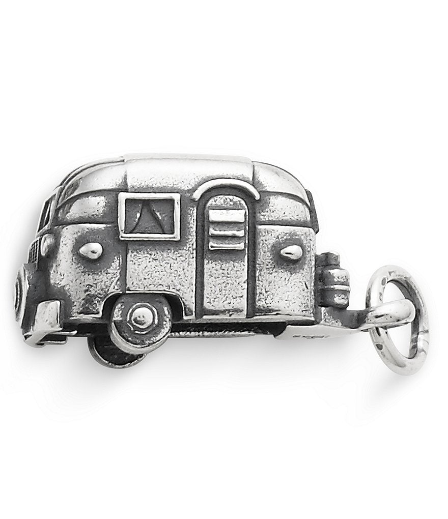 James Avery RV Camper Sterling Silver Charm