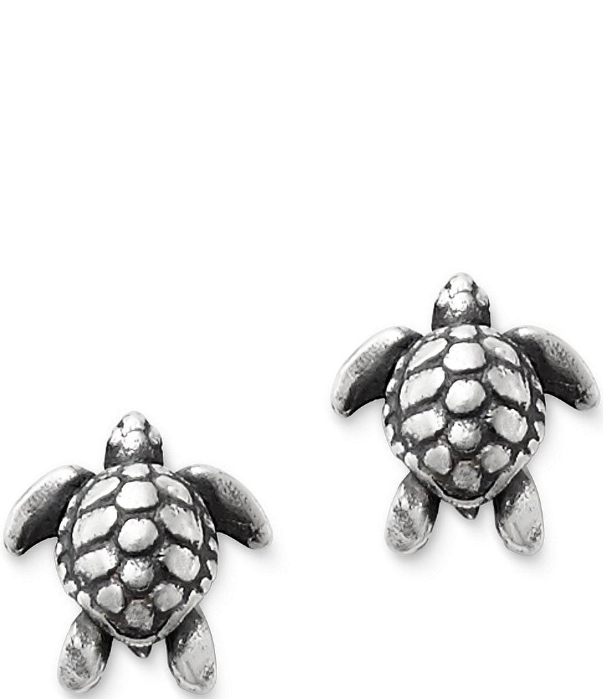 James Avery Sea Turtle Earrings