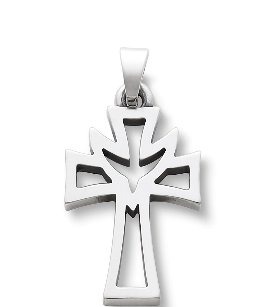James Avery Small Deep Holy Spirit Cross